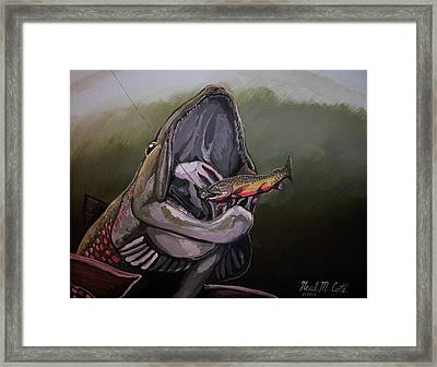 Johnsrud Surprise Framed Print by Neal Cote