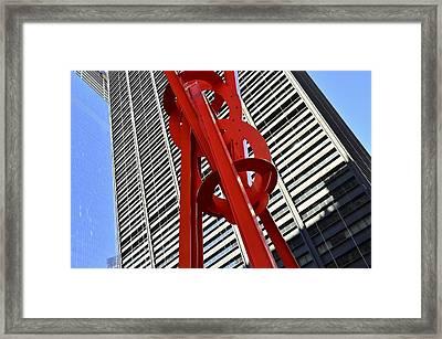 Joie De Vivre Sculpture Framed Print by Allen Beatty