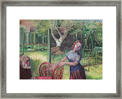 Join Us Framed Print by Ellen Howell