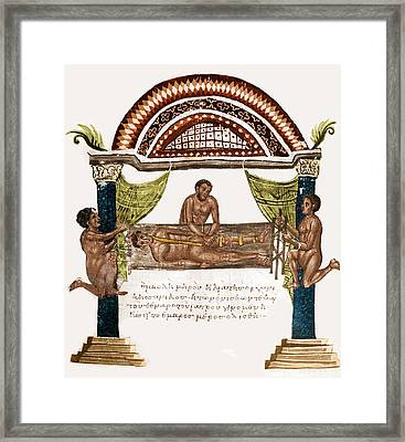 Joint Dislocation Treatment, 1st Framed Print by Science Source