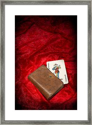 Joker Framed Print by Amanda Elwell