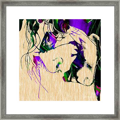 Joker Collection Framed Print