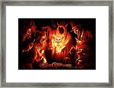 Joker Gathering Framed Print by Tom Wood