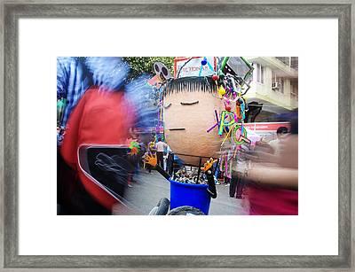 Joker Framed Print by Money Sharma