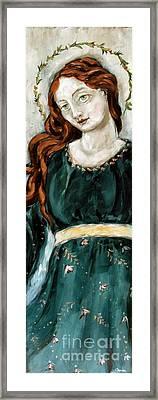 Jolene Framed Print by Carrie Joy Byrnes