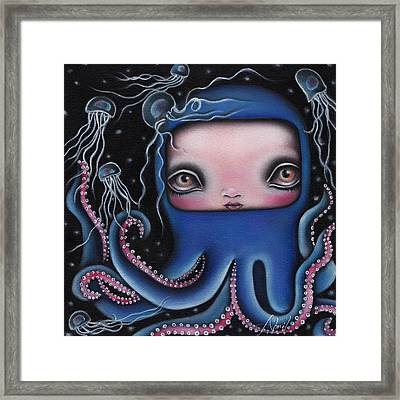 Jolenta Framed Print by  Abril Andrade Griffith
