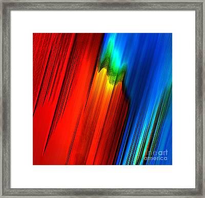 Jolt Framed Print by Gayle Price Thomas