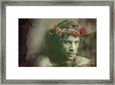 Jon -color- Framed Print