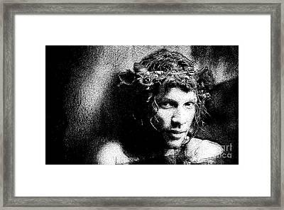 Jon Framed Print