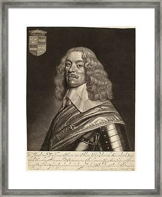 Jonas Suyderhoff After Gerrit Van Honthorst Dutch Framed Print
