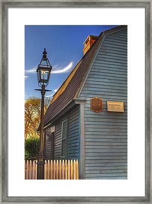Jonathan Gibbs House Framed Print