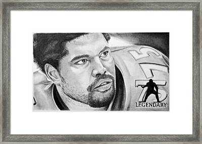 Jonathan Ogden Framed Print by Don Medina