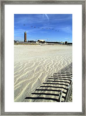 Jones Beach Tower New York Framed Print by Bob Savage