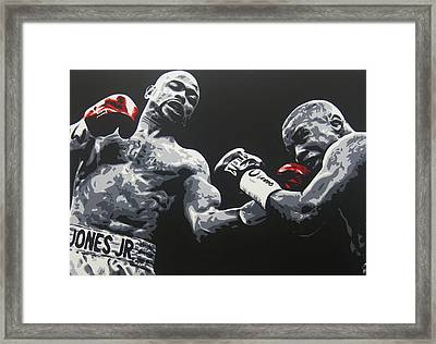 Jones Jr Vs Trinidad Framed Print