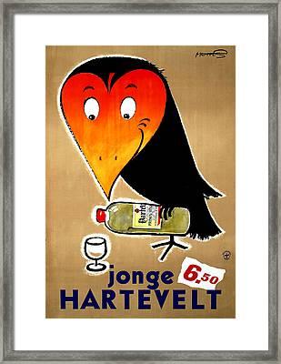 Jonge Hartevelt Advertising Framed Print