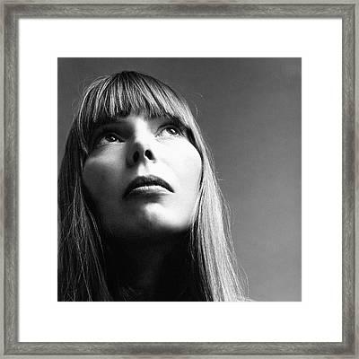 Joni Mitchell Framed Print
