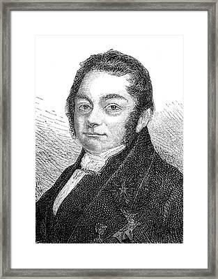 Jons Jacob Berzelius Framed Print