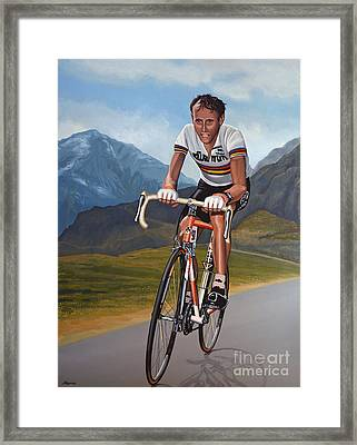 Joop Zoetemelk Framed Print by Paul Meijering