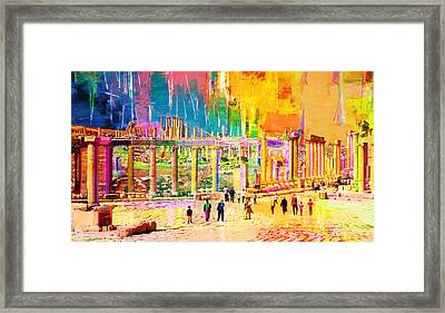 Jordan 01 Framed Print by Catf