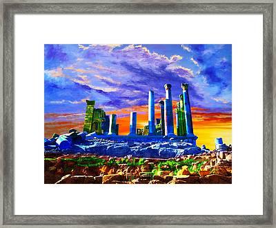 Jordan 04 Framed Print