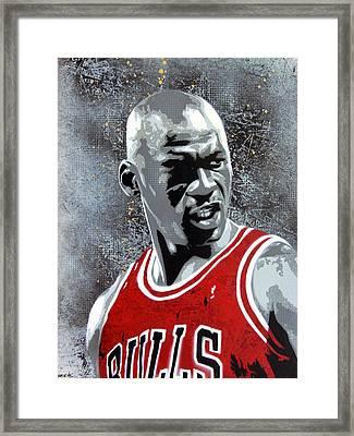 Jordan Framed Print by Bobby Zeik