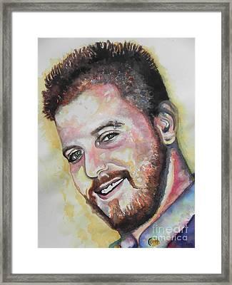Jordan Framed Print by Chrisann Ellis