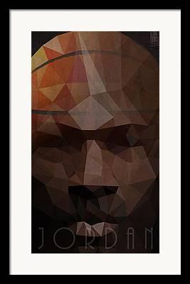 Bobcat Digital Art Framed Prints