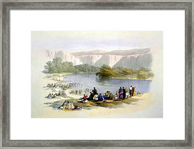 Jordan River Framed Print