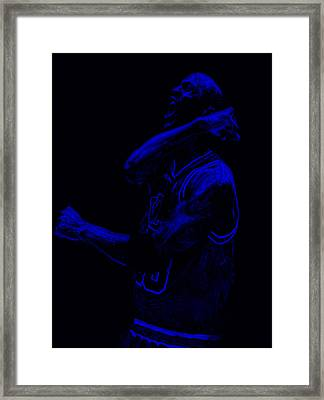 Jordan Victory  Framed Print by Brian Reaves