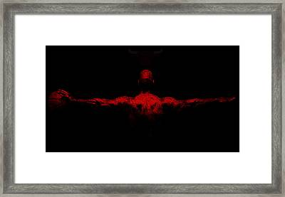 Jordan Wings Framed Print