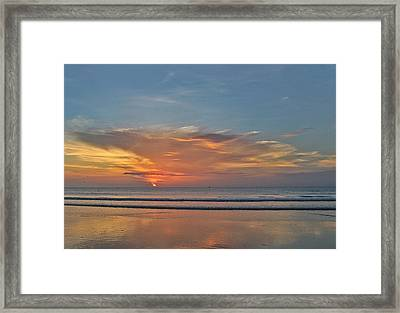 Jordan's First Sunrise Framed Print