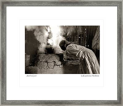 Framed Print featuring the photograph Josefina Leon by Tina Manley