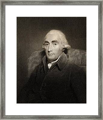 Joseph Black Framed Print