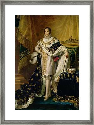 Joseph Bonaparte 1768-1844 After 1808 Oil On Canvas Framed Print