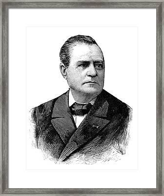 Joseph Boussinesq Framed Print