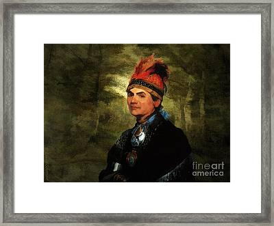 Joseph Brant After Stuart Framed Print