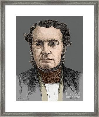 Joseph-francois Malgaigne Framed Print