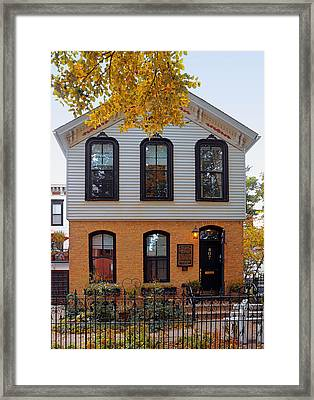 Joseph J O'connell House Chicago Framed Print