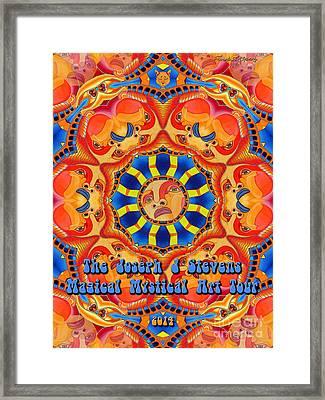 Joseph J Stevens Magical Mystical Art Tour 2014 Framed Print