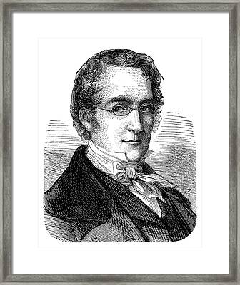 Joseph Louis Gay-lussac Framed Print by Science Photo Library