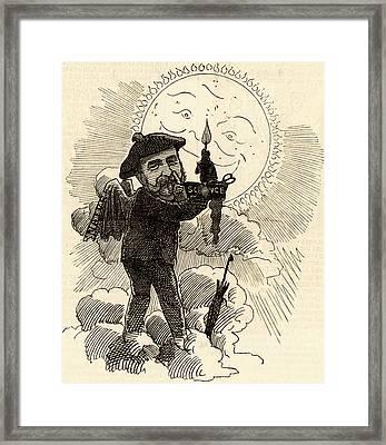 Joseph Norman Lockyer Framed Print by Universal History Archive/uig