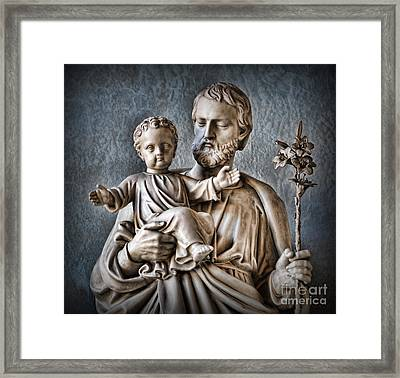 Joseph Of Nazareth Framed Print by Lee Dos Santos