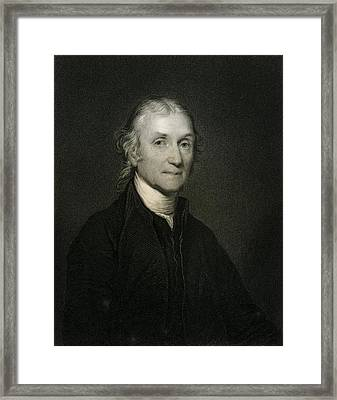 Joseph Priestley, British Chemist Framed Print by Science Photo Library