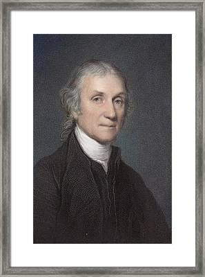 Joseph Priestley Framed Print by Paul D Stewart