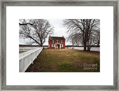 Joseph Serfy House Framed Print by John Rizzuto
