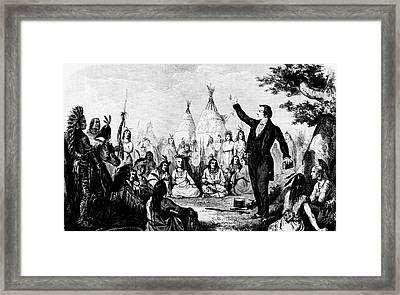 Joseph Smith Framed Print by Collection Abecasis