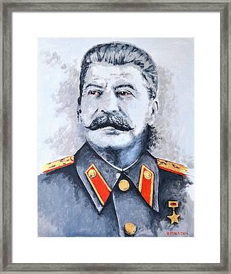 Joseph Stalin Framed Print