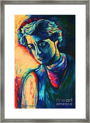 Joseph The Dreamer Framed Print by Carole Spandau