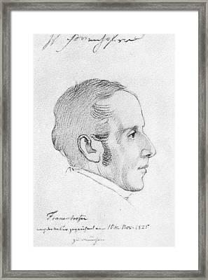 Joseph Von Fraunhofer (1787-1826) Framed Print