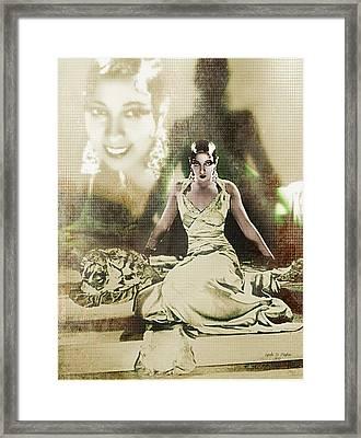 Josephine Baker 2 Framed Print